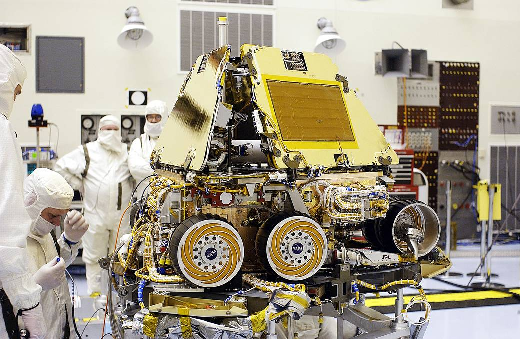 facts about mars rover spirit - photo #20